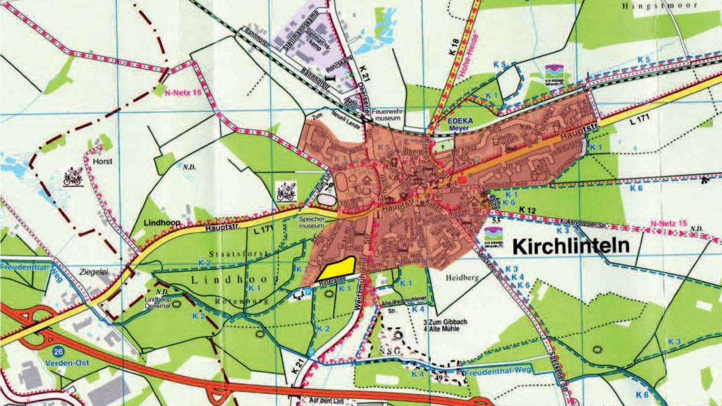 Karte von Kirchlinteln