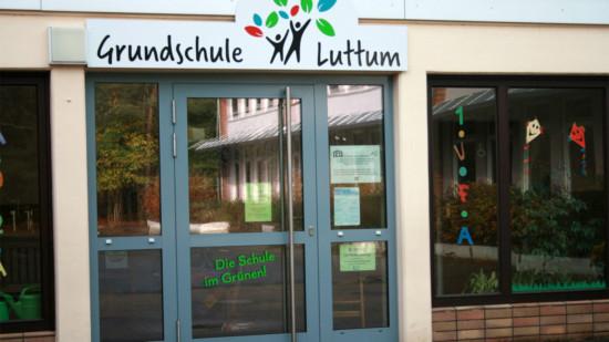 Bild zeigt: Grundschule Luttum