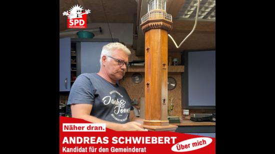 Andreas Schwiebert in der Hobbywerkstatt
