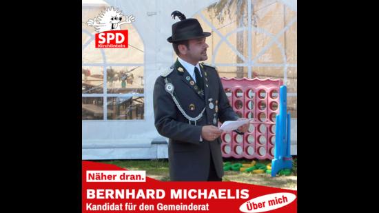 Bernhard Michaelis in Schützenuniform