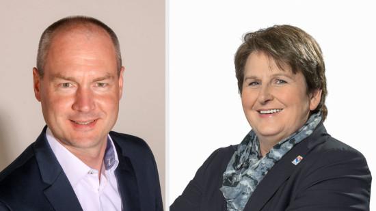Michael Harjes und Hanne Modder