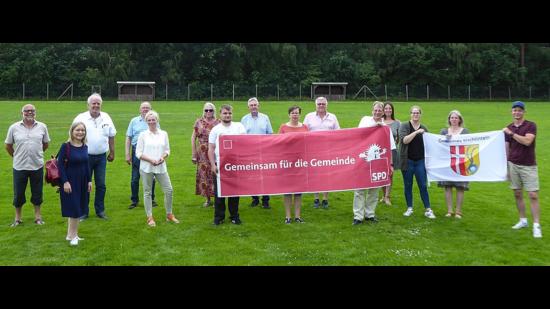 Die Kandidierenden auf der SPD-Liste