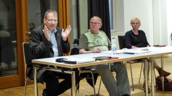 Richard Eckermann, Hans-Rainer Strang und Sabine Mandel