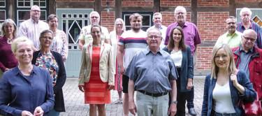 Gruppenfoto aller Kandidierenden